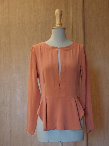 Ladies Western Silk Top