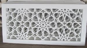 GFRC (Glass Fiber Reinforced Concrete) Panel Jali