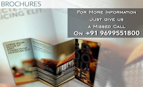 Brochures Printing Service in  Malad (W)