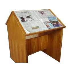 Newspaper Reading Table