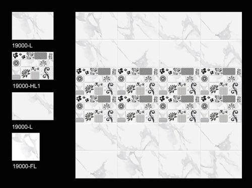 Digital Ceramic Wall Tiles (Satin)