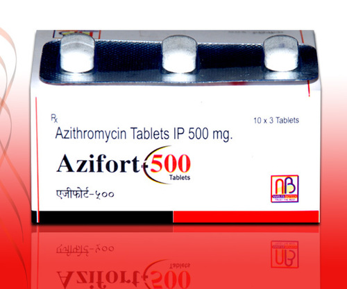 Azifort 500 Tablets in  Near Namaste Chowk