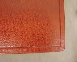 Burnishing Leather Edges
