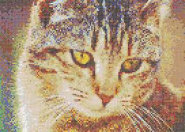 Printed Cat Handmade Tiles