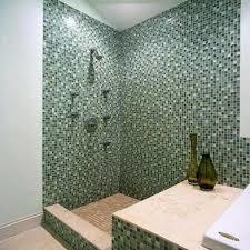 Green Glass Mosaic Tiles