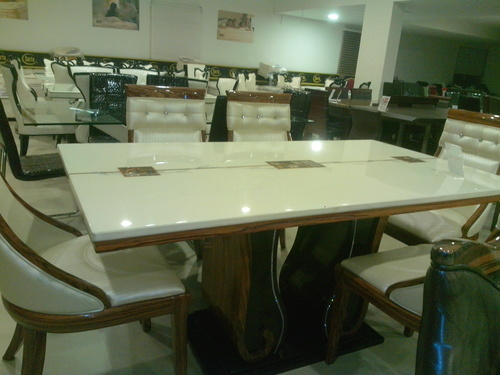 Office Coffee Leather Sofa in Ahmedabad Gujarat  : italian marble dining table 000 from www.tradeindia.com size 500 x 375 jpeg 74kB