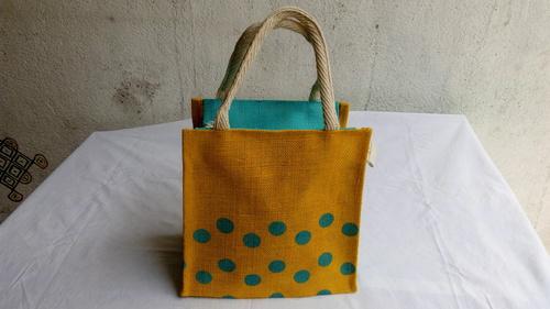 Designer Jute Tiffin Bag
