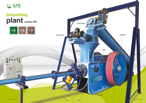 Bio Coal Briquetting Machinery