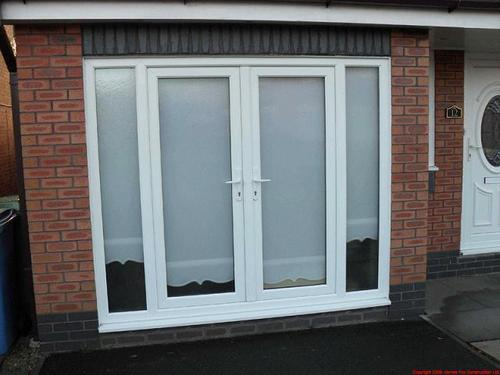 French doors in perungulathur chennai poonam upvc for Upvc french doors india