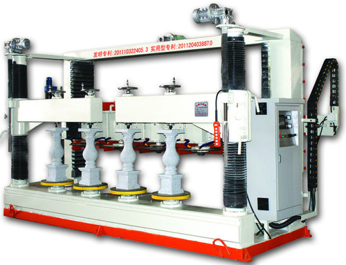 Multihead Stone Column Copying Machine