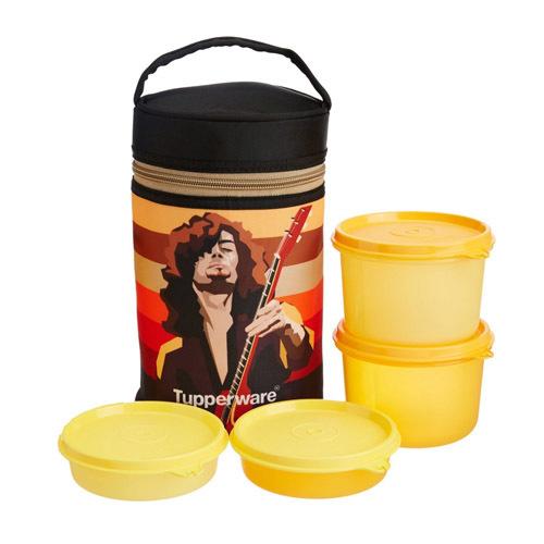 Tupperware Rocker Lunch Box