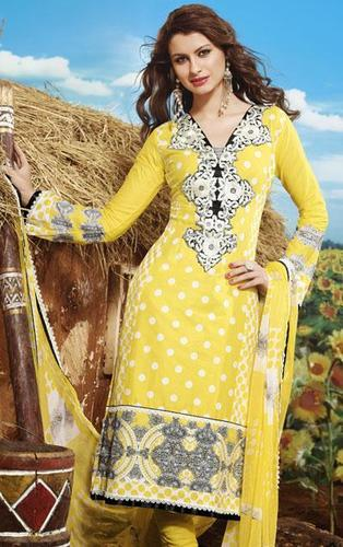 Embroidery Cotton Suit