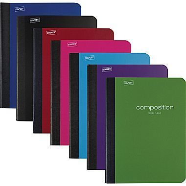 Composition Note Books