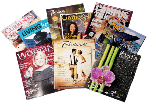 Colored Magazine Printing Services