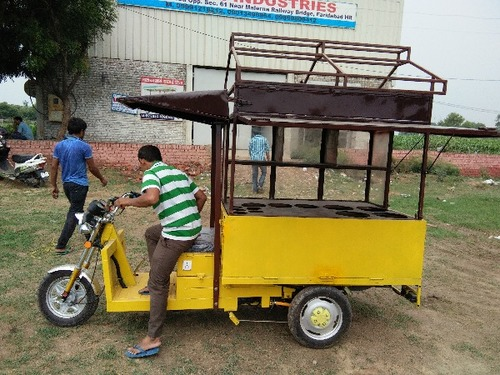 Electric Food Cart Rickshaws in  New Area