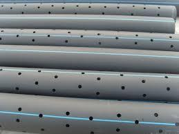 Perforated HDPE Pipes