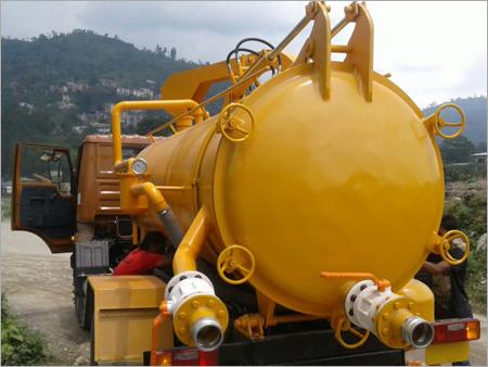 Cesspit Emptier Tank in   Dabgram Industrial Estate. P.O. Satelite Township. Dist. Jalpaiguri