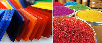 Colour Compounded Polymer Powder