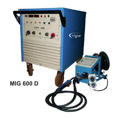 Diode Based Mig Welding Machine (Mig 600 D) in  Okhla - I