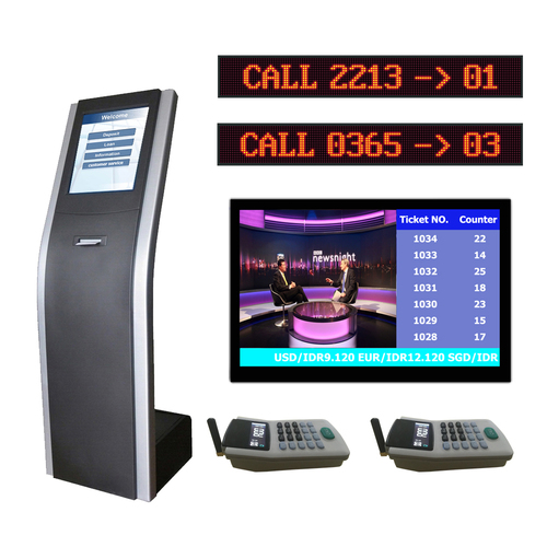 OEM/ODM Bank Wireless Queue Management System