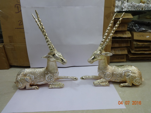Aluminum Deer Set in  Karol Bagh