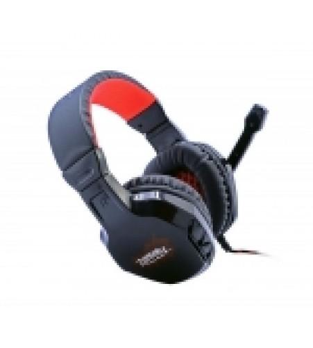 Multimedia Headphones With Mic Metal Head