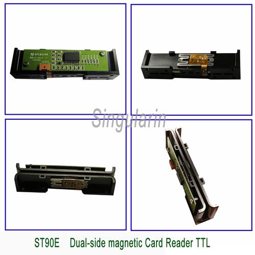 Dual Side Magnetic Card Reader TTL