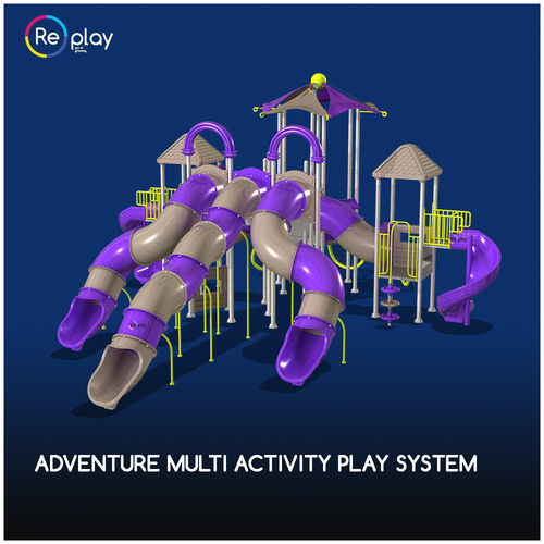 Adventure Multi Activity Play System in  New Area