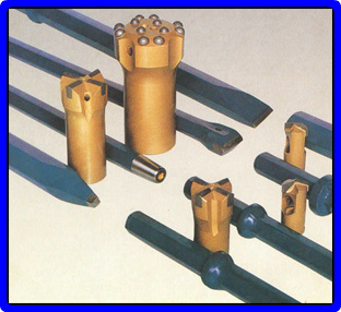 Cutting Drill Rods