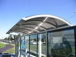 Stainless Steel Bus Shelter