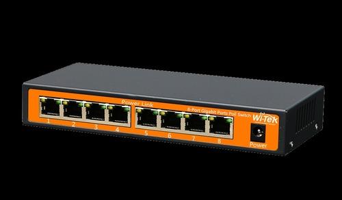 8-Port 48v Gigabit Ports Poe Switch With 8-Port Poe Wi-Ps308g