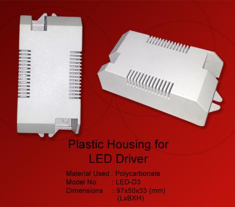 Led Drivers Plastic Housing