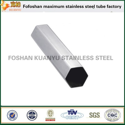 Acero Inoxidable 304 Hexagonal Stainless Steel Pipe