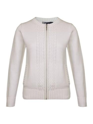 Cotton Zip Cardigan