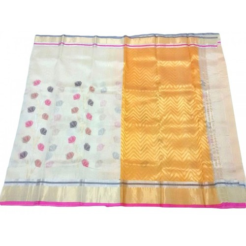 Pure Pattu Silk Chanderi Saree (GP2146)