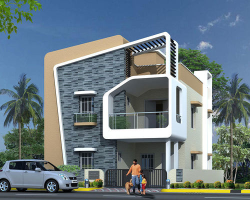 Modern homes construction service in mumbai maharashtra for Modern design building services
