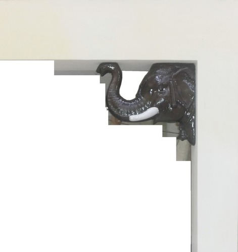 Elephant Face Wall Hanging