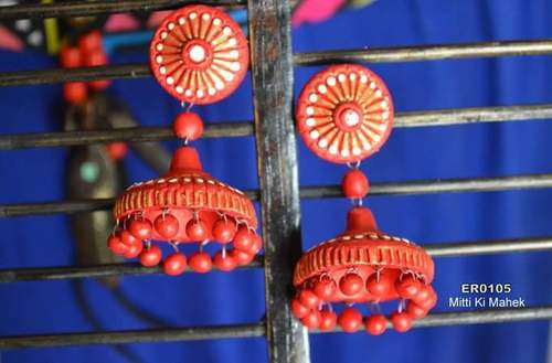 Terracota Hanging Earring