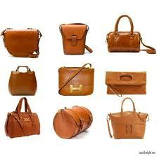 Brown Leather Bags in  Grant Road
