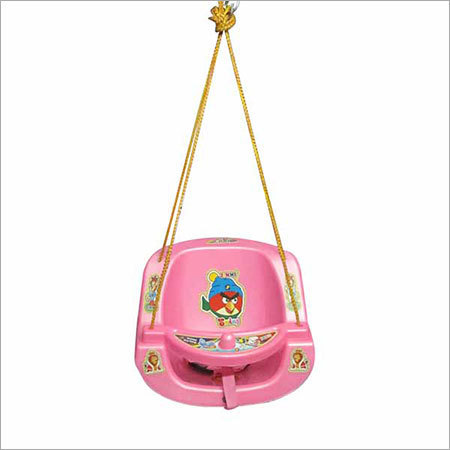 Pink Color Plastic Baby Swing in  Geeta Colony