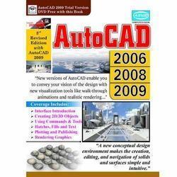 Autocad 2006/2008/2009 Computer Book in  Ansari Road