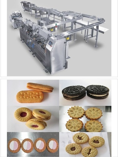 Biscuit Sandwiching Machine in   Nanping Science & Technology Industrial Zone