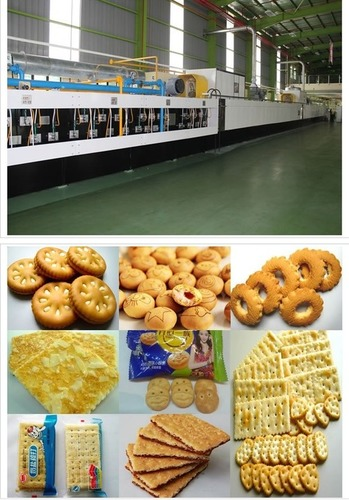 Multi Functional Biscuit Production Line in   Nanping Science & Technology Industrial Zone