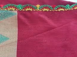 Cotton Fabric Saree in  Indira Bazar