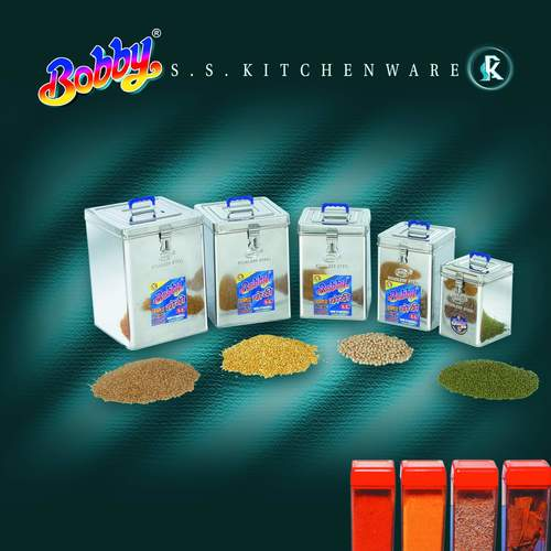 Stainless Steel Square Dabba