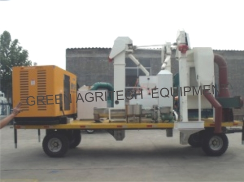 Mobile Seed Processing Plant in   Behind BD Floor Mill