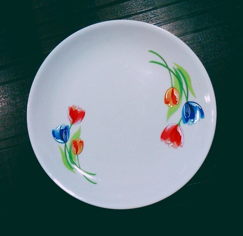 Plastic Breakfast Plate