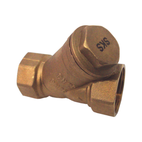 SKS 574 Forged Brass Y Strainer