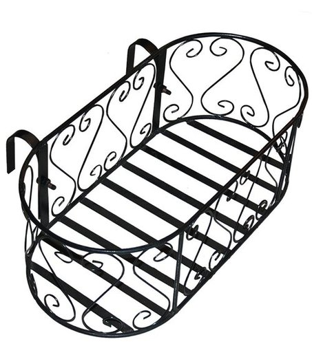 Oval Railing Planter