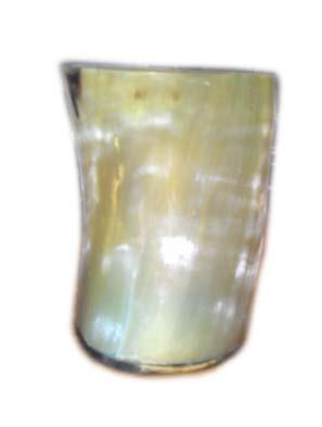 Antique Horn Glass